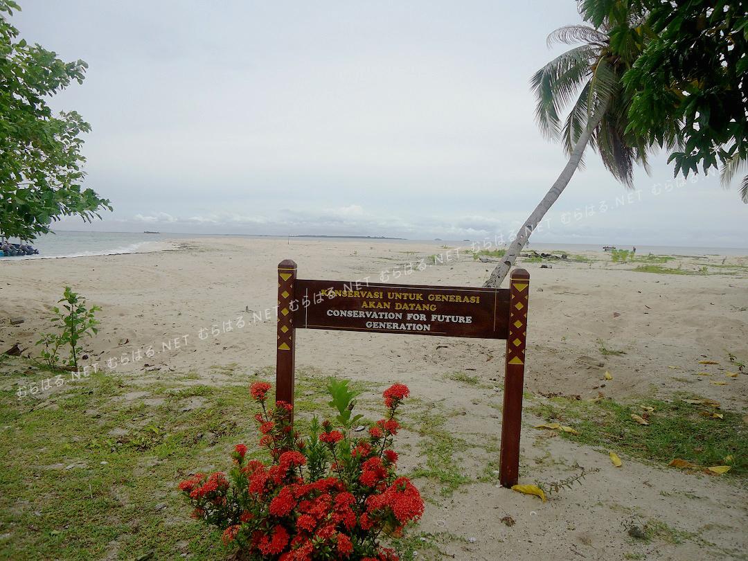 島にあった看板?