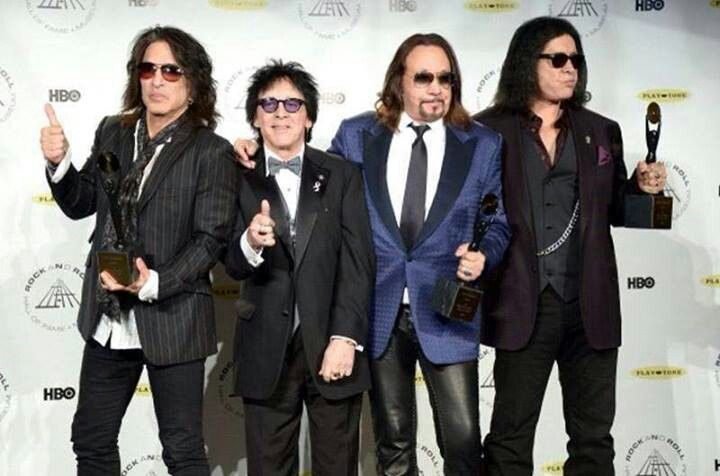 KISS ~Rock and Roll Hall of Fame April 10, 2014