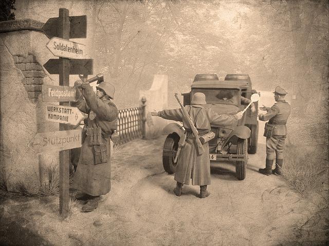 第一次世界大戦初期は陸上戦争でした。 ※この画像はイメージです