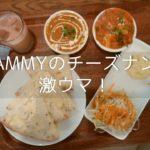 【閉店】蒲生のインドカレーAMMYのチーズナンランチはお腹が膨れてウマい!
