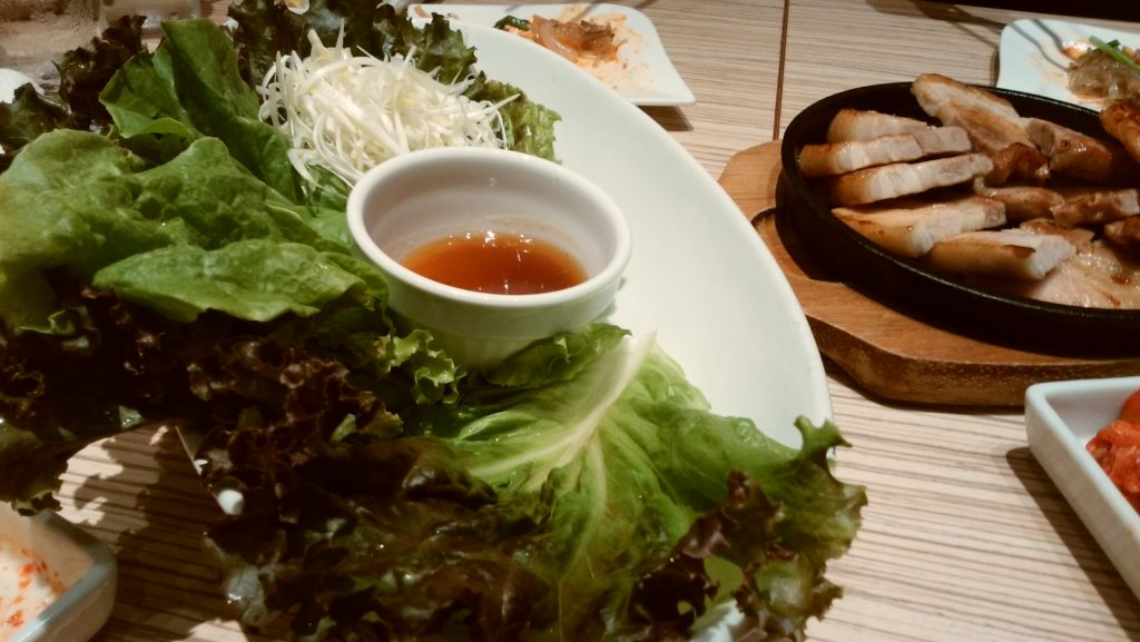 東京純豆腐大阪マルビル店の野菜