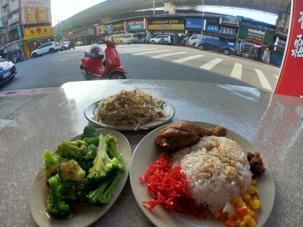 台北の飲食店での1枚