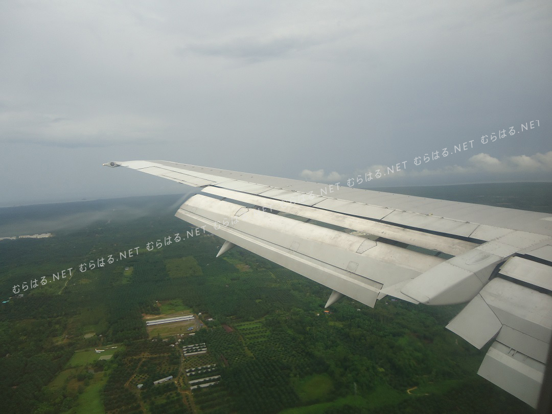 サンダカンへのフライト