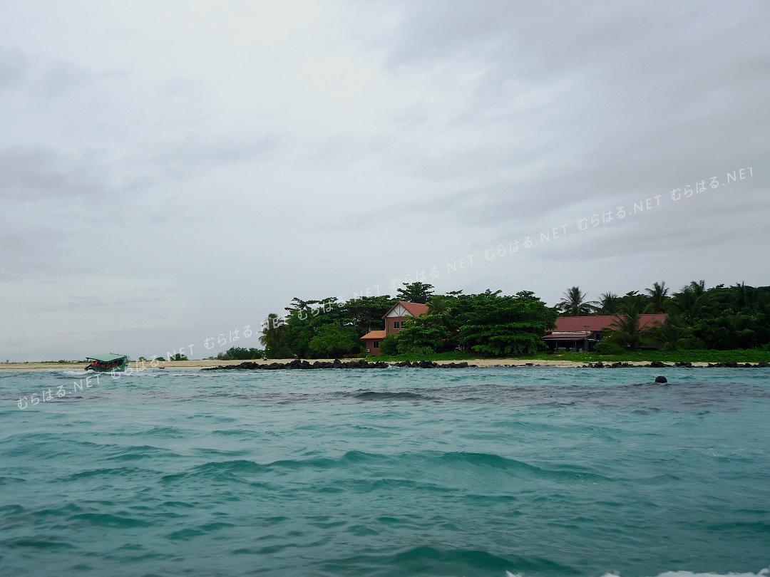 島付近から見た島の様子