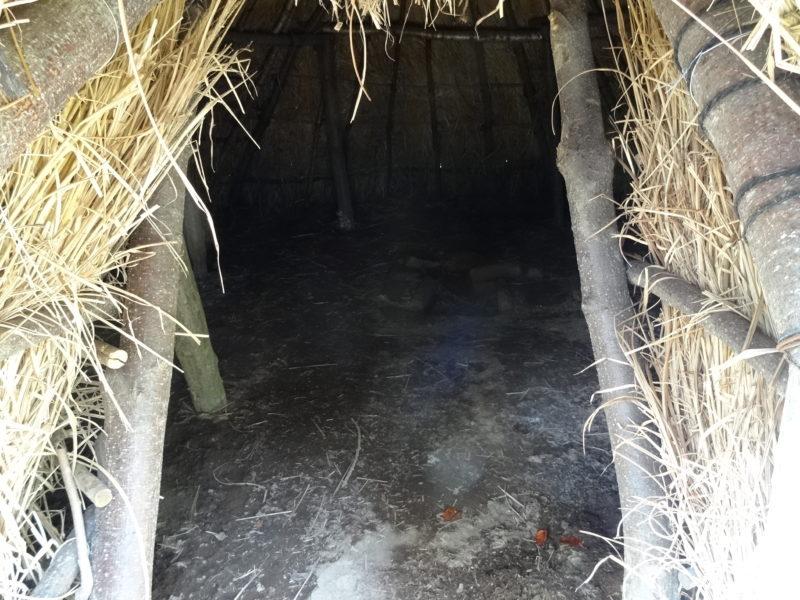 大深山遺跡の竪穴住居2