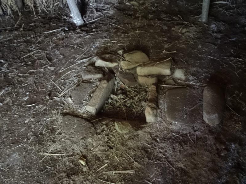 大深山遺跡の竪穴住居3