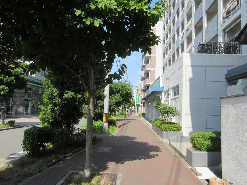 野江の住宅街