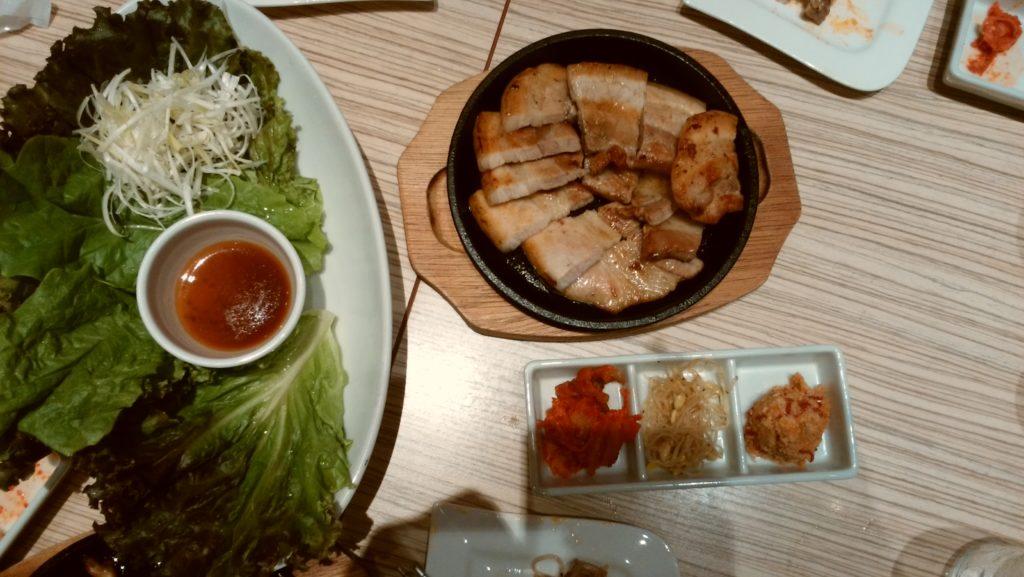 東京純豆腐大阪マルビル店のプルコギ