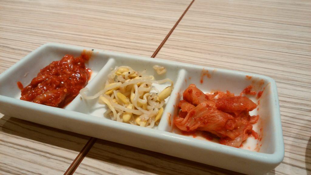 東京純豆腐大阪マルビル店の前菜